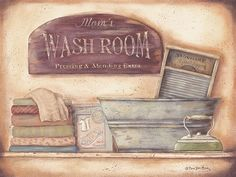 Wash Room (Laundry)