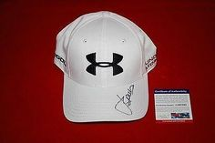 18bd5f7f9c5 golf star JORDAN SPIETH signed under armour hat 1 - PSA DNA Certified -  Autographed Golf Equipment at Amazon s Sports Collectibles Store