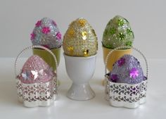 Sequin Egg Craft