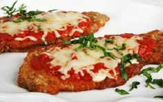 If you want to know how to make the perfect Eggplant Parmesan then you've found the best recipe ever. Here we tell you exactly how to make the best Eggplant Parmesan you'll ever make and taste. Veal Recipes, Parmesan Recipes, Entree Recipes, Side Dish Recipes, Cooking Recipes, Veal Parmigiana Recipe, Chicken Parmigiana, One Dish Dinners, Dinner Dishes