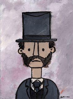 Untitled  Victorian Gentleman 5 by SuperGraffiti on Etsy, £6.00