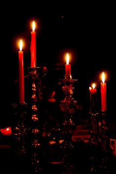 Red Candlelight