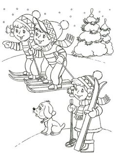Winter Coloring Pages for Kindergarten Best Of Winter Coloring Page for Kid 3 manualidades primaria Snowman Coloring Pages, Coloring Pages Winter, Coloring Sheets For Kids, Disney Coloring Pages, Christmas Coloring Pages, Coloring Pages To Print, Coloring Book Pages, Kids Coloring, Winter Colors