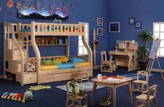 Love this kid's room!
