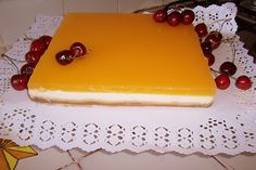 La Cocina de Auro » Tarta de Queso con Cobertura Canapes, Butter Dish, Cheesecakes, Food And Drink, Chocolate, Sweet, Desserts, Recipes, Grande