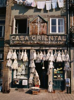 Check Casa Oriental, close to the Clérigos Tower in Porto. This house was founded in 1910 and offers all the traditional portuguese sweets, cold meats, salted dried cod fish, fresh fruits and vegetable. Also cheeses, olives, wines and liqueurs.: