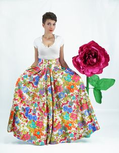 Maxi Skirt Long Skirt High Waisted Plus Size Skirt by FatBerry ...