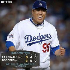 LA Dodgers - Ryu, Wainwright, Jansen