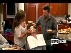 A sneak peek at 'Manzo'd With Children'. New series from Bravo featuring the Manzo family-Caroline Manzo, her husband Al Sr., sons Albie and Chris, daughter Lauren and her fiancé Vito. The show is set to premiere on Bravo later this year.