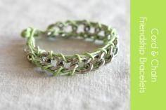 DIY Friendship Bracelet - Bead&Cord