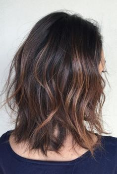 Image result for partial balayage on black hair