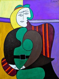 Pablo Picasso -   The Red Armchair, 1931 at the Art Institute of Chicago IL