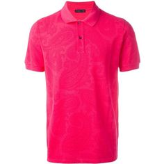 Etro classic polo shirt ($315) ❤ liked on Polyvore featuring men's fashion, men's clothing, men's shirts, men's polos, pink, mens polo shirts, etro men's shirts, mens cotton shirts, mens pink polo shirt and mens pink shirts