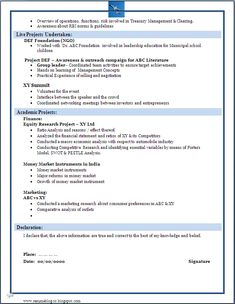 ba and bcom freshers resume samples making a ba or a b