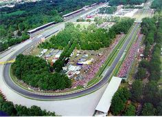 Autodromo Nazionale Monza- Is a race track located in Monza Park. The circuit's biggest event is the Formula One Italian Grand Prix. Formula 1, Ferrari, Italian Grand Prix, Twitter Image, Reggio, Italy Travel, Hamilton, Race Cars, Beautiful Places