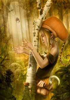 CGArena : Spider Harp