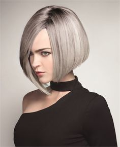 Ice Queen: A Rooted-In-Silver Look from Truss - Hair Color - Modern Salon