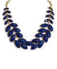 Look what I found on #zulily! Blue & Gold Branch Necklace & Earrings by MOA International Corp #zulilyfinds