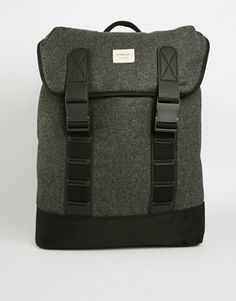 Image 1 of Farah Vintage Melton Backpack