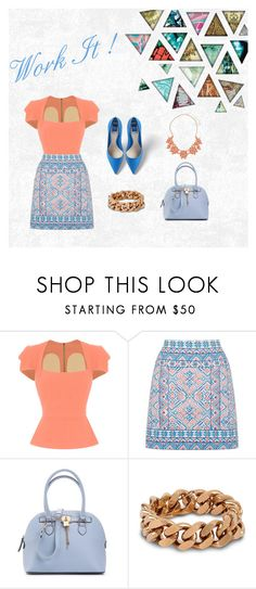 """""""Off to Work"""" by salahmariamghazaly on Polyvore featuring Roland Mouret, Oasis, ALDO, STELLA McCARTNEY and Dorothy Perkins"""