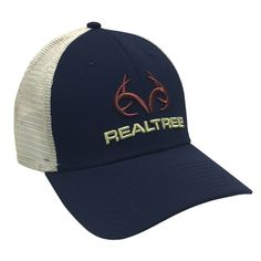 ea5231ad1 Realtree Performance Americana Antler Logo Fitted Hat