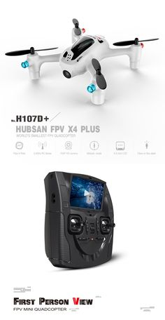 Perfect drone for the newbie flyer! Perfect picture and video! Easy to fly. Get yours on amazon for only $173. Start having fun with your new HUBSAN FPV X4 PLUS Quadcopter H107D+2.4G 4CH RC Drone! Get your new quadcopter today!