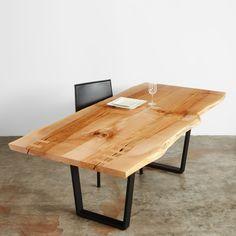 maple dining table #UrbanHardwoods #SalvagedWood