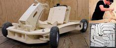Bygg en gokart av trä | Ny Teknik