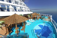 The Havana Pool onboard the brand new Carnival Vista cruise ship, overlooking the crystal blue #ocean this is a get-away from it all escape like no other #relax #holiday Image courtesy Carnival Cruises http://the-cruise-specialists.co.uk/c/line-display/?cruiseline=Carnival&client=the-cruise-specialists&nLin=5