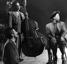 Gjon Mili, Red Callender, Lester Young