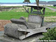 Flintstone Park on Whidbey Island ( my birthplace Oak Harbor, Whidbey Is. WA)