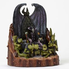 Malificent Wood Carved By Jim Shore