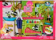 Barbie Doll I Can Be A Panda Caretaker Play Set | eBay