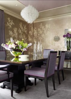 Park Avenue Combination designed by Pier, Fine Associates Dining Room Design, Dining Room Chairs, Dining Set, Dining Bench, Kitchen Dining, Dining Rooms, Dinner Room, Park Avenue, Beautiful Kitchens