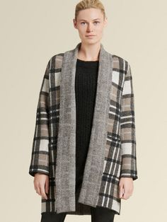 View All - New - donnakaran - Donna Karan Cashmere Turtleneck, Ribbed Sweater, Sweater Cardigan, Cardigan Fashion, Best Casual Outfits, Faux Shearling Coat, Sweater Sale, Outdoor Wear, Charcoal Color