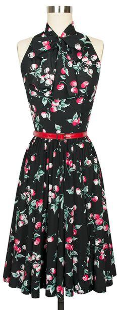 Everybody favorite Trashy Diva Streetcar Dress in the classic Cherries print!