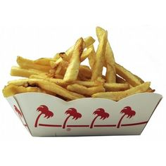 Photo: Both companies hand-cut their french fries on site. In-N-Out... ❤ liked on Polyvore