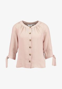Dorothy Perkins Petite ROUND NECK TIE SLEEVE - Chemisier - pink - ZALANDO.FR Quoi Porter, Textiles, Mannequin, Sleeves, Sweaters, Fashion, Decorative Knots, Men Styles, Pink Roses
