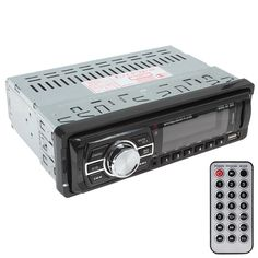 REAKOSOUND Wholesale Car Audio Stereo In-Dash FM Aux Input Receiver SD USB MP3 Radio Player Remote Control