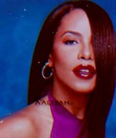 Aaliyah in red, with background Aaliyah Haughton, Instagram Ideas, One In A Million, Live Action, Beyonce, Selena, Famous People, Childhood, Handsome