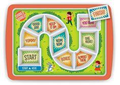 Little Boo-Teek - Fred Dinner Winner | Gifts for Girls | Kids Plates