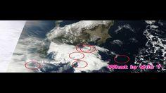 衝撃のNASA衛星写真!日本上空に61機の「葉巻型UFO」(2013.2.1~2)