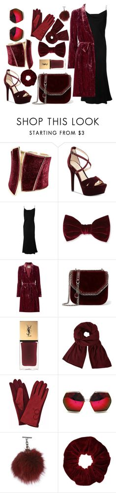 """""""Red velvet cake"""" by iamgl2002 ❤ liked on Polyvore featuring GUESS by Marciano, Jessica Simpson, Christian Dior, Forever 21, L'Agence, STELLA McCARTNEY, Yves Saint Laurent, John Lewis, Spitfire and Miss Selfridge"""