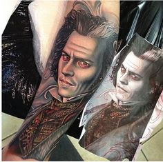 This+Sweeney+Todd+tattoo+is+impeccable.+%23InkedMagazine+%23realism+%23portrait+%23Inked+%23art+%23tattoo+%23tattoos