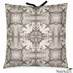 Printed Linen Pillow Nymph 26x26
