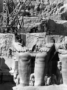 How to relocate giant Ancient Egyptian temples