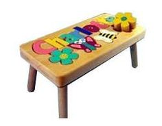 Personalized Puzzle step stool by tinykeepsakes.com  #kids