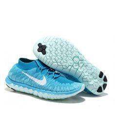 737925919cc03 Nike Free 3.0 Flyknit Womens UK Sale Blue Jade