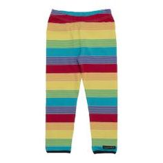 Rainbow Striped Leggings - Horizon