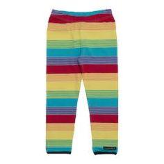 Rainbow Striped Leggings - Horizon